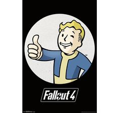 Fallout 4 Poster Vault boy