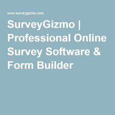 SurveyGizmo | Professional Online Survey Software & Form Builder