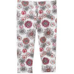 Faded Glory Girls' Capri Legging, Size: 4/5, Multicolor