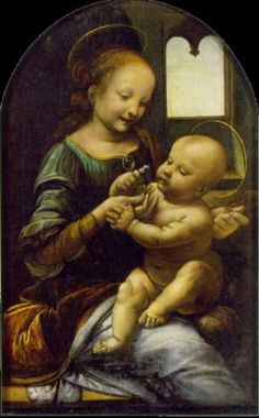Da Vinci - Benois Madonna -- State Hermitage Museum, St. Petersburg