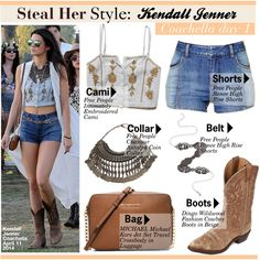 Steal Her Style:Kendall Jenner Coachella day 1