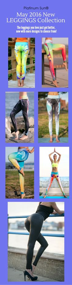 This Ergonomic fit, Sunproof, Quick-drying, Antibacterial and Moisture-wicking Leggings boast of a unique design. Best for surfers, yogis, runners, and more. Say goodbye to see-through issues as well! Out in May 2016!