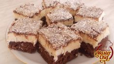 Recepti i Ideje: Domace ledene kokos kocke Bosnian Recipes, Croatian Recipes, Bosnian Food, Serbian Food, Cake Cookies, Cupcake Cakes, Cupcakes, Gourmet Recipes, Baking Recipes