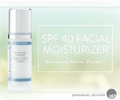 Product Spotlight: SPF 40 Facial Moisturizer