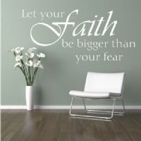 Spiritual Quotes - Personalized Wall Decor Letters, Quotes, Decals and Words | Stencil Like Letters