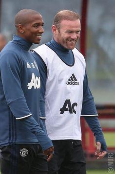 Ashley Young & Wayne Rooney