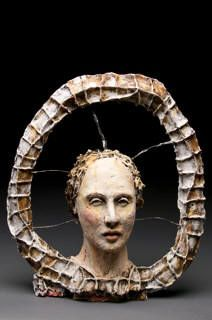 Debra Fritts The Middle  21.5 x 20 x 9 in.    Stoneware
