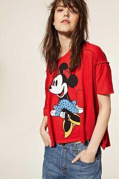 T-shirt Minnie Aniye By TAGLIA: S #t-shirt#tee#mickeymouse#disney#fashion#cool#shopping#moda#donna#summer#collection#aniyeby