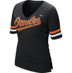 01689fc3b646e Nike Womens Baltimore Orioles Fan Half Sleeve Black T-Shirt - Dicks  Sporting Goods Pittsburgh