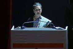 Dialogue only on accepted principle of civilised behaviour: Sonia Gandhi