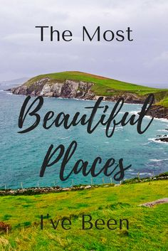 I bet you've traveled to a destination that was so gorgeous it took your breath away. I've been to a few places like that! So I thought I'd put together a list of the most beautiful places I've been. Click through to find out more.
