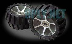 Nouveau grand 113mm Offroad Dirt / pneus / roues seulement par 9ply
