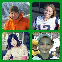 Never Forget Officer Sean Collier, Krystal Campbell, Lu Lingzi & Martin Richard <3