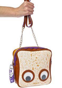 Betsey Johnson PB And J Crossbody Bag Women's Handbags & Wallets Unique Handbags, Unique Purses, Cute Purses, Purses And Handbags, Gucci Purses, Cheap Handbags, Luxury Handbags, Backpack Purse, Crossbody Bag