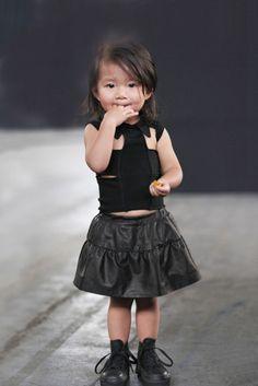 Baby Fashionista Alia Wang