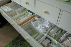 赤ちゃん用品収納