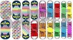 """Custom Jamberry """"Petey Cat LOVES Shoes"""" nail wraps!!  Orders must be submitted by **AUG 3rd** exclusively from Amy Swan (Happy Teacher Heaven blog)"""
