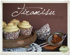 Tiramisú cupcakes - Sweet Mania