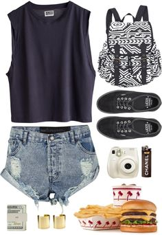 """""""Summer Loving"""" by hanna-alicia ❤ liked on Polyvore"""