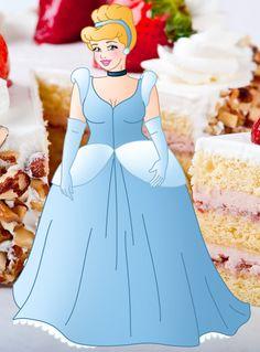 Plus size Princess: Cinderella by Willemijn1991