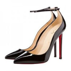 Christian Louboutin Halte 120 Pointed Toe Pumps Patent Black [CLPTPS03] - $111.00 : Designershoes-shopping, World collection of Top Designer high heel UP TO 90% OFF!