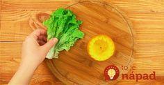 Svieži šalát s pomarančom a kuracím mäsom. Prekvapte svojich hostí originálnym servírovaním!