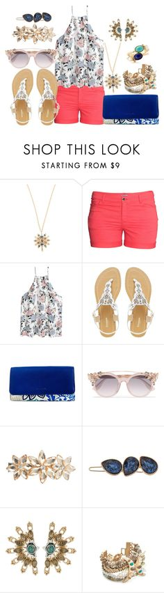 """Casual Spring Day"" by brinkofdisaster ❤ liked on Polyvore featuring Lulu Frost, H&M, Dune, Vera Bradley, Jimmy Choo, Dorothy Perkins, LC Lauren Conrad, New Directions, casualoutfit and contestentry"