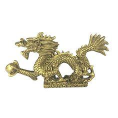 Chinas Mini Brass Copper Sculpture Pray Buddha Feng shui bell 48*30mm Sale SH