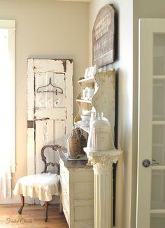 corner in dining room