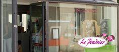 Création du site Internet de l'institut de beauté Le Poudrier dans les Yvelines en région parisienne.