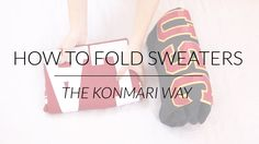The KonMari Method is professional organizer Marie Kondo's minimalism-inspired approach to decluttering your house and finding items that spark joy. This method is showcased in her Netflix show, 'Tidying Up with Marie Kondo. How To Fold Sweaters, Konmari Methode, Organiser Son Dressing, Organizar Closet, Closet Tour, Closet Redo, Diy Rangement, Song Of Style, Marie Kondo
