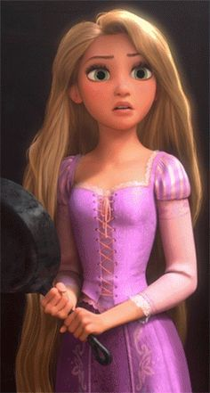 Day 16.1: Rapunzel's voice in 'When Will My Life Begin' is amazing!!! I love her singing voice.