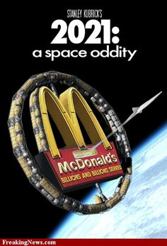 Ha ha, a double whammy! Funny Mickey Ds and a parody...
