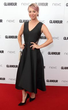 Kaley Cuoco from 2015 Glamour UK Women of the Year Awards: Red Carpet Arrivals | E! Online