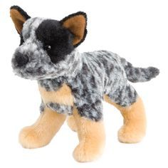"""At 8"""" long, breed specific details and the softest materials make this dog distinctive and a great """"pick-up"""" gift or toy. - Ages: 24 Months & Up - Washing Instructions: Machine Douglas Toys makes beau"""
