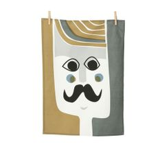 $18 / Mr. Tea Towel by Ferm Living