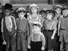 Spanky and Our Gang--we used to watch re-runs of this and ask our parents if this is what they looked like as kids(a little before their time, tho!).