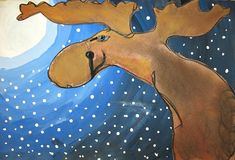 MaryMaking: Moonlit Moose