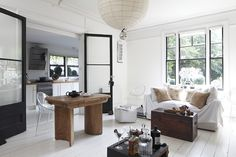 Airy living room belonging to Interior Designer, Amber Jeavons