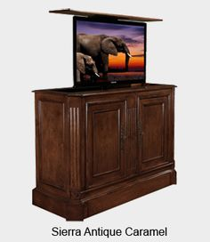 Lift Cabinets In Diffe Styles Conceal It From View Cabinet Tronix Traditional Tv