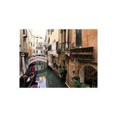 Venice, Veneto, Italy Photographic Wall Art Print (440 ZAR) ❤ liked on Polyvore