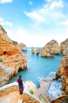24 Hours In Lagos And Sagres In The Algarve, Portugal Road Trip Portugal, Best Places In Portugal, Portugal Travel, Faro Portugal, Visit Portugal, Spain And Portugal, Lisbon Portugal, Beautiful Castles, Beautiful Beaches
