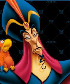 Jafar and Iago Disney Pixar, All Disney Movies, Evil Disney, Disney Villains Art, Disney And More, Disney Cartoons, Disney Art, Walt Disney, Villains Party