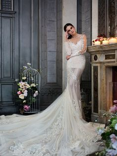 "The new collection of wedding dresses Haute Couture ""Properties Passion"" by Svetlana Lyalina"