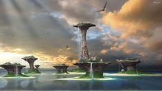 Image for Beautiful Scene Of Fantasy Island Cities