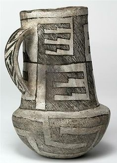 Chaco Black-on-white pitcher, ca. 1050-1125 CE Gallup vicinity, McKinley Co., NM Gift of Gila Pueblo Foundation, 1950 Gladwin Collection