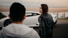 Couple Fun with the Lamborghini Huracán at 7 Mile Beach, Gerroa, NSW