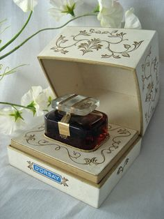 Vintage D'Orsay Perfume Bottle Trophee Original Box Baccarat Flacon Boite | eBay