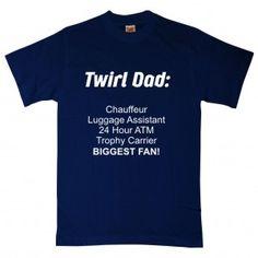 Dad twirl shirt