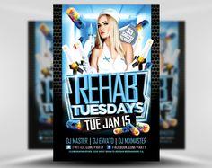 Rehab-Tuesdays-PSD-Flyer-Template-1